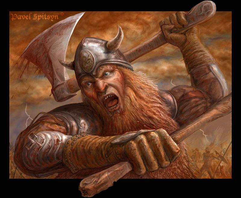 Воин с севера открытка